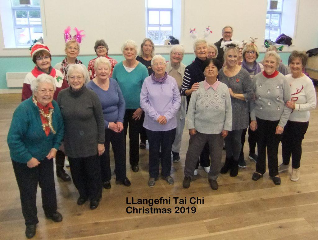 Tai Chi Llangefni class 2019